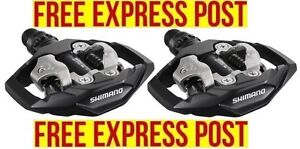 Shimano PD-M530 MTB XC TRAIL Clipless SPD Pedals BLACK EXPRESS POST
