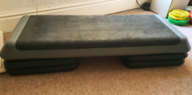 3 level adjustable aerobics fitness step non-slip stepper