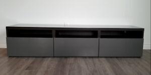 Meuble télé 3 tiroirs Ikea BESTA