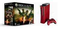 Console Xbox 360 Elite Red: Resident Evil 5 Limited Edition