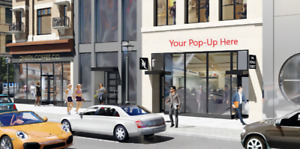 Retail Storefront for lease - Short or Long term availabile