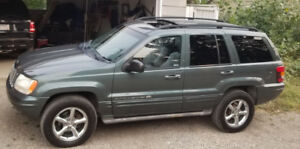 2002 Jeep Grand Cherokee 4dr Overland 4WD - Fully Loaded