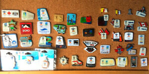 2010 Vancouver Olympic pins...