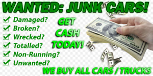 CASH FOR SCRAP JUNK OLD USED BROKEN CAR TRUCK JEEP BUYER REMOVAL