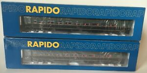 BRAND NEW / HO Scale / Rapido / Lightweight Coaches / CNR (x2)