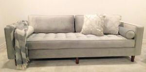 Brand New Modern Mid hCentury Style Sofa Couc