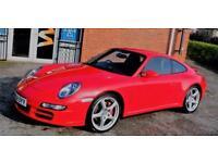 2008 Porsche 911 3.8 997 Carrera 4S AWD 2dr
