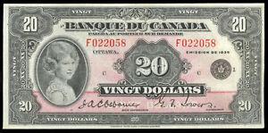 RECHERCHE BILLET DE $20.00 1935 Saguenay Saguenay-Lac-Saint-Jean image 1