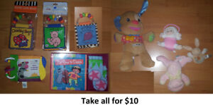 Baby Toys - Lot 1 (Take all for $10)