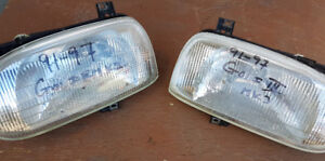 91-97 VW GOLF III MK3 Headlight Assembly - $120 for the set