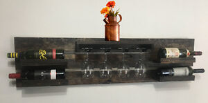 Solid Wood Handmade Wine Rack