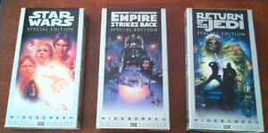Star Wars Special Edition VHS set - $5.00