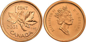2001 Coins/Change
