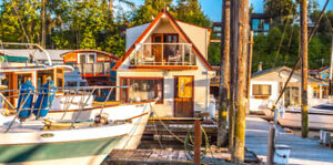 Float Home for Sale  Cowichan Bay  $267,000
