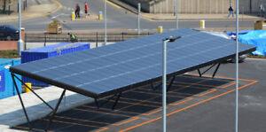 ~15 kW DC Solar Carport DIY Kit - LOWEST PRICE