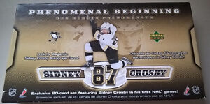 2005-06 Upper Deck Sidney Crosby Phenomenal Beginning Set