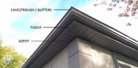 SEAMLESS EAVESTROUGH, GUTTERS, SOFFIT, FASCIA - TROUGHWAY