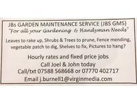 Handymen & Gardeners for Ipswich & Beyond!