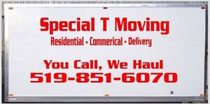 Special T Moving- Student/Senior discounts !! BOOK NOW!! London Ontario image 3