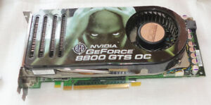 computer part graphic card GE FORCE 8800