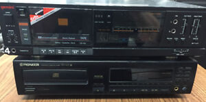 Pioneer CD Player & Gemini Cassette Player - Good Used Condition