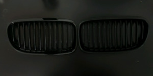 BMW E90 (2009-2011 3series) All Gloss Black Grill