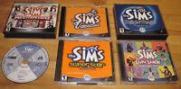Jeu et expansions pour The Sims 1