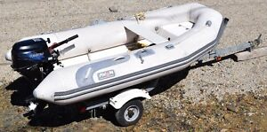Avon Inflatable 310 RIB - Rover Series with 9.8hp Tohatsu