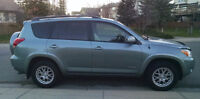 2008 Toyota RAV4 Limited SUV, winter and summer tires