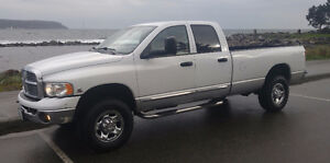 2004 Dodge Power Ram 2500 Quad Cab Turbo Diesel Pickup Truck