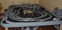 Model Trains - Lionel Engines, fast track with switches size O