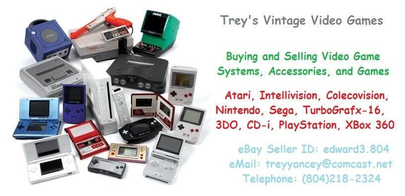 Trey's Vintage Video Games
