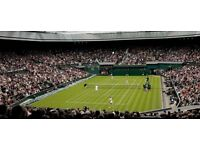 2 Wimbledon Ladies Final Tickets Today