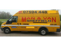 SHEFFIELD MAN AND VAN FOR HIRE, REMOVALS, HOUSE CLEARANCE, LOW RATES...