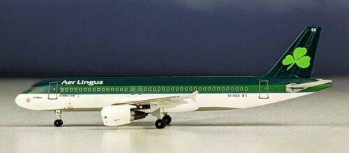 Aeroclassics ACEIDEA Aer Lingus Airbus A320-200 EI-DEA Diecast 1/400 Jet Model