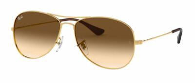 Ray-Ban Damen Herren Sonnenbrille RB3362 001/51 59mm COCKPIT gold S B4