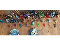 Skylanders (xbox 360) trap team + supercharger bundle (with Lego movie game)