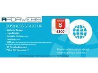 Business Start-Up Packages - Website Design Service