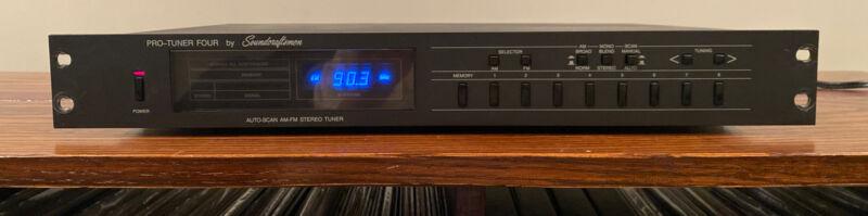 Soundcraftsmen Pro Tuner Four -  FM/AM stereo tuner Works Great