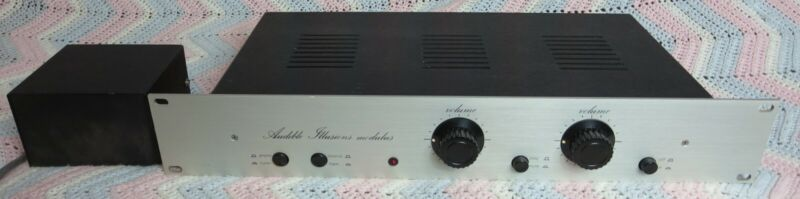 Audible Illusions Modulus 1 Stereo Tube Preamplifier New Capacitors and Diodes