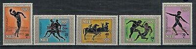 Niue Scott 446 - 450 in MNH Condition