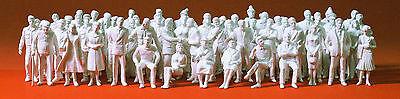 Preiser 68290, 60 unbemalte Figuren - Spur 0 - 1:50
