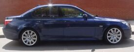 BMW 520D 5 Series Automatic Diesel Saloon Business Edition Sat Nav Sensors Privacy Glass M alloys