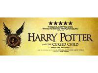 2x PREMIUM STALLS tickets HARRY POTTER & CURSED CHILD SATURDAY 27th