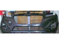 """OPEN TO OFFERS"" Brand New Genuine Chevrolet Spark LT 2013 Model Front Bumper Primed (Bath)"