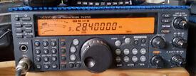 Kenwood TS-570D HF Tranceiver.