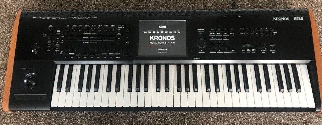 korg kronos 2 keyboard workstation sampler sequencer synthesizer in hinckley leicestershire. Black Bedroom Furniture Sets. Home Design Ideas