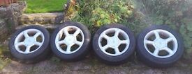 Winter tyres on Ford Fitment Alloys