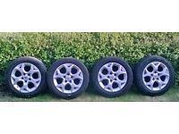 Astra mark 5 Alloy wheels,5 stud,16 inch.