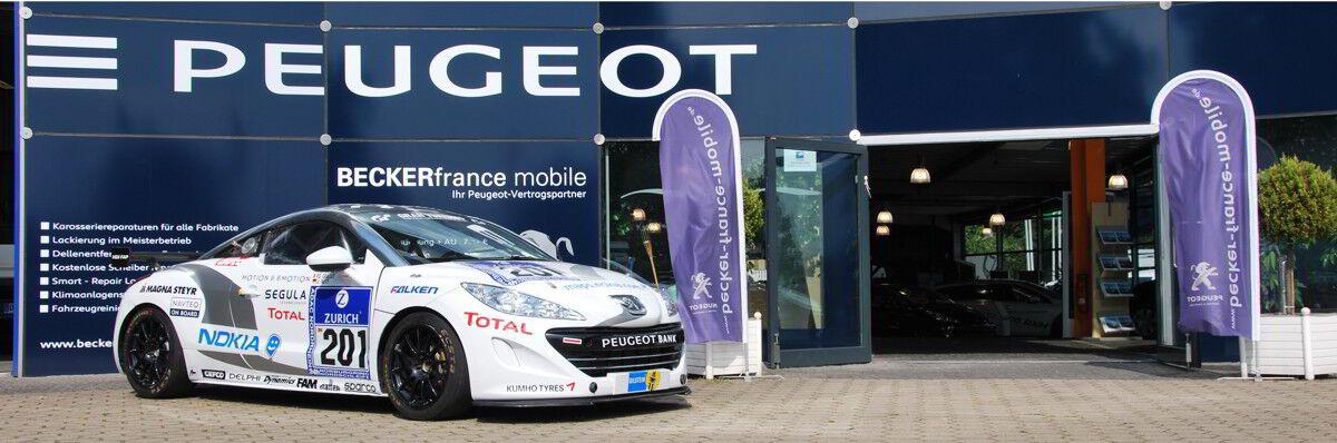 Peugeot BECKERfrance mobile